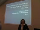 Выступление на Конгрессе по психотерапии в Австралии, Сидней